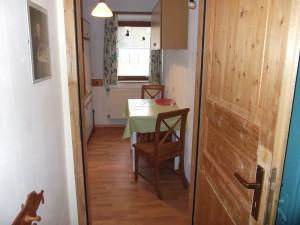 Eingang zur Gästeküche
