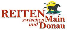 Logo von Reiten zwischen Main und Donau