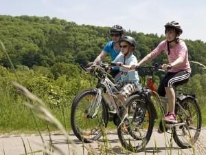 Rad fahren in der Region